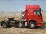 Camion d'entraîneur de la marque 336HP de HOWO avec le type 6X2 pilotant