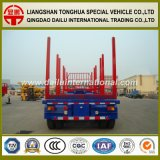 2 Axles Staight Beam Timber/Wood Transport Truck Trailer card