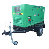 Тип комплект трейлера генератора 4BTA3.9-G2 Cummins тепловозный