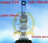 3つのマトリックスのFuctionの再資源業者のタバコ煙るガラス配水管