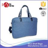 Sacolas mensageiras para homens com sacos para laptop em couro PU