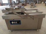 Saldatura a caldo automatica della macchina imballatrice 2X2/4X4 di vuoto dell'alimento della carne Dz-600 per la vostra scelta