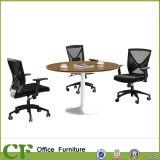 금속 다리 목제 사무용 가구 회의실 수신 테이블