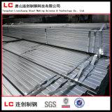 Vor-Galvanisiertes quadratisches /Rectangular-Stahlgefäß mit Beschichtung des Zink-120G/M2