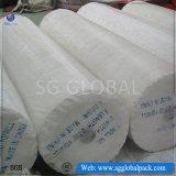 Tissu plat tissé par pp blanc