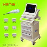 새로운 디자인 휴대용 의학 가늠자 Hifu 아름다움 기계 피부 회춘