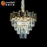Lustre en Cristal Pendentif d'éclairage Lampe lumière LED résidentiel