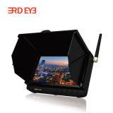 """雪スクリーン5.8g 5 """"李電池式の無線小型携帯用Fpv DVR LCDのモニタ"""