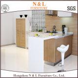 N & L armários de cozinha de melamina MFC de estilo europeu