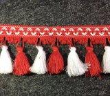 Neue bunte Troddel der Spitze-2017 für Kleid-und Vorhang-Zubehör