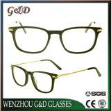 Plus tard l'acétate de gros de Lunettes optiques Lunettes lunettes cadre