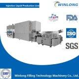Flacon de liquide Filling-Stoppering Washing-Drying--Ligne de production d'étiquetage