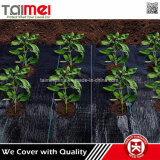 Fornecimento de fábrica 2017 Tecido preto Tecido Tecido de controle de erva
