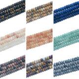 Ligne noire Rhodonite Oeil de Tigre Quartz Rondelles perles de pierres précieuses pour la fabrication de bijoux