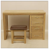 Wood solido Oak Dressing Table con Drawer Wooden Dressing Table