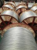 Cabo elétrico como o fio de aço folheado de alumínio para o fio à terra de fibra óptica