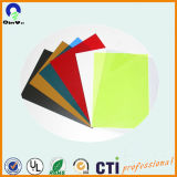 PVC Rigid Colored Sheet di 1mm per Offset Printing