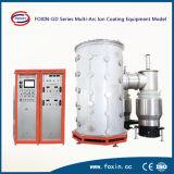 Machine de placage d'ion d'or de vide de PVD pour la pipe de feuille d'acier inoxydable