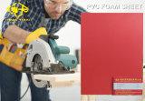 Het rode Blad van het pvc- Schuim voor Kabinet 620mm van het Toilet