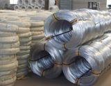 Fil galvanisé et fabrication recuite noire de fil