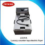 6L Single Tank Acier inoxydable Batteries électriques aux pommes de terre Deep Fat Fryer
