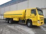 HOWO duas unidades em estoque 25m3 Oil Tank Truck