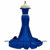 Платья выпускного вечера партии вечера Mermaid V-Шеи женщин длинние сексуальные