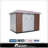 Sous-station préfabriquée de transformateur électrique de kiosque