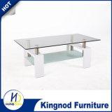 Tavolino da salotto di vetro di legno moderno, Tabella di tè