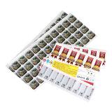 Etiketten die van het Af:drukken van de kleur Diverse Materiële Sticker van de Vernis van de Sticker \ van de Sticker \ de Steen Gebeëindigde met een laag bedekken