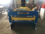 Double roulis de tuile de toit d'arc formant la machine pour le propriétaire de la Zambie