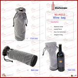 Boîte à vin en velours de bonne qualité (6213R5)
