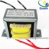 E-I lamellierter Transformator mit Leitungen oder Schaltkarte-Montage