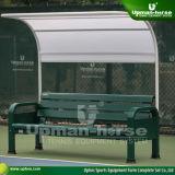 (TP-068L) 7' en aluminium poudré bancs de la cour de tennis