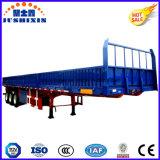 2016 caliente vendiendo 40-70 toneladas de pared lateral/el acoplado utilitario de la tarjeta lateral/del carro pesado del cargo fuerte de la cerca