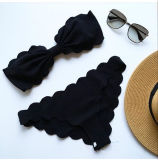 Signora calda sexy a buon mercato popolare Bikini della ragazza della spiaggia di Bowknot dell'OEM