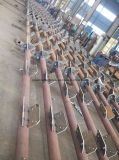 熱いすくいの亜鉛めっきの電気通信3の足の管のアンテナ鉄塔