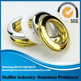새로운 디자인 아BS 플라스틱 유형 반지, 다이아몬드 반지 &High 질 플라스틱 커튼 침묵 반지