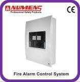 Pannello di controllo del segnalatore d'incendio di incendio della grande costruzione, non indirizzabile, 2 zona (4001-01)