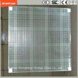 la glace de construction de sûreté de 3-19mm, glace de fil, glace feuilletante, configuration plate/a déplié les verres de sûreté Tempered pour le mur/étage/partition d'hôtel avec SGCC/Ce&CCC&ISO