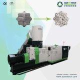 Plástico de gran capacidad que recicla y máquina de la granulación para el plástico que hace espuma