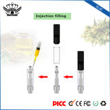 Se dobla el cartucho electrónico disponible del E-Cigarrillo del cigarrillo del atomizador de cristal de las bobinas 0.5ml