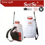 전기 건전지 책가방 또는 배낭 Shixia Seesa 16L 고품질 도매 농업 기계장치 펌프 스프레이어 (SX-MD16H)