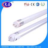 Tubo de la viruta SMD2835 18W T8 LED de Epistar con la cubierta de cristal