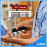 De kleine Scanner van de Streepjescode van de Supermarkt van Bluetooth van de Grootte Handbediende