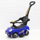 Carro Multi-Function do balanço do bebê de 3 cores com barra do impulso