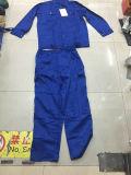 熱い販売保護の労働者のための青いカラー安全つなぎ服