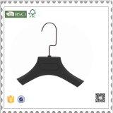 Hoher Grad-Schwarz-Plastikkleiderbügel, Klage-Aufhängung für Kleidung