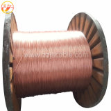 Massa de aço revestido de cobre a sobrecarga da haste Conductor