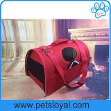 Portador plástico del recorrido del gato del perro de animal doméstico de la manera de la talla del fabricante 3